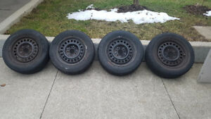 "15"" All-season tires and Rims 15 x 6J P205/60/ R15"
