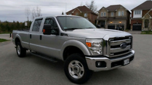 2013 Ford F250 XLT lowest km. Best Offer
