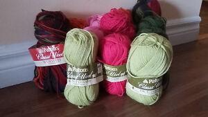 Yarn-Wool - 20 Lot
