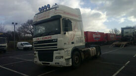 DAF 95 XF 480 4X2 TRACTOR UNIT MANUAL GEARBOX SLEEPER CAB