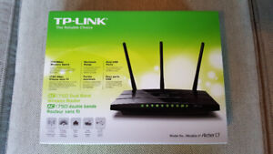 TP-Link AC1750 Dual Band Wireless Router (Archer C7)