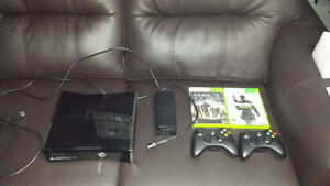 Xbox 360 Console + Games $250 (price dropped)