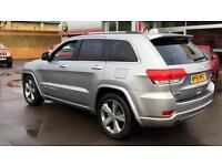 2016 Jeep Grand Cherokee 3.0 CRD Overland 5dr Automatic Diesel MPV