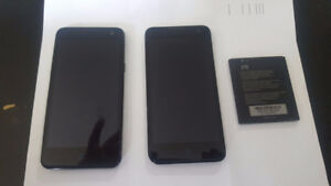 ZTE 850 Black android 16 MB Cell Phone / Spare screen and batter