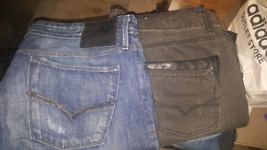 Guess,buffalo and silver jeans