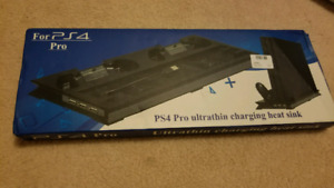 PS4 PRO STAND MOUNT USB CHARGING DOCK