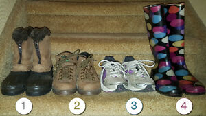 Boots / Running Shoes!