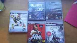 PS3 w/5 Games and Controller Kawartha Lakes Peterborough Area image 2