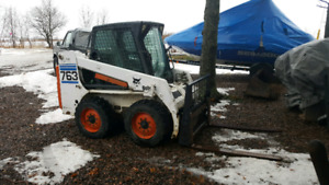 Bobcat 763 and 709 Backhoe Attachment