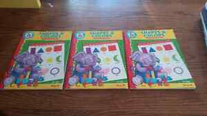 Shapes and Colours Pre K Workbook