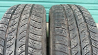 2 Cooper size 225 60 17 all season tires