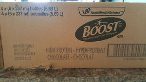 Boost complete nutrition high protein chocolate Regina Regina Area image 3