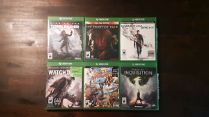 6 Xbox One Games