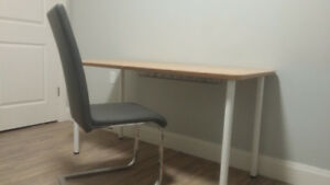 Ikea Desk with Legs and Cable Storage