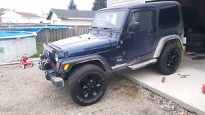 """5x 18"""" Jeep Rims and Tires"""