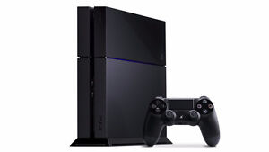 Playstation 4 w/ a couple games, 1 controller