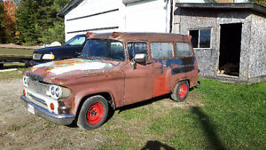 Dodge town wagon  panel van ratrod for trade for car