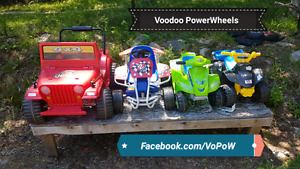 6v power wheels and other type kids ride on keeps car and ATV s