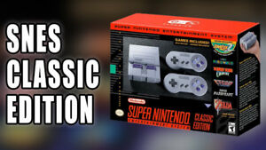 Super nes classic edition mini