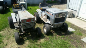 lawn tractors for parts