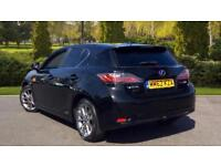 2013 Lexus CT 200h 1.8 Advance CVT Automatic Petrol/Electric Hatchback