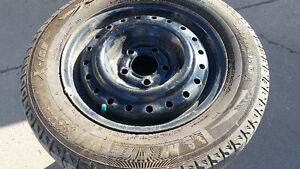 205/60/R15 tyres on rim for sale