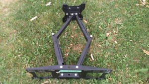 Extendable heavy flat tv bracket