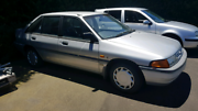 Ford Laser Ghia Auto KH 1990 - 1 owner 91,000km RWC included  Templestowe Manningham Area Preview