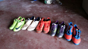 Various soccer shoes 7 & 101/2