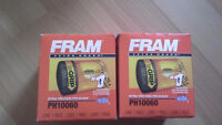 2 auto oil filters,  new in box,5 dollars for both