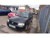 2001 / 51 Volkswagen Polo 1.4 Match 5 Door Part X Clearance Starts/Drives