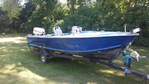 16foot fishing boat