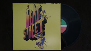 Vinyl records Beat Street