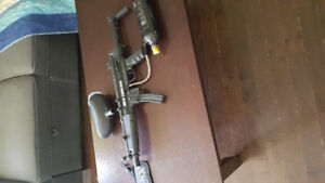 Spider Xtra and BT Delta Paintball gun
