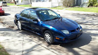 2002 Pontiac Sunfire SL Sedan
