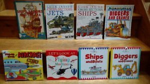"9 ""Big Machines"" information books for children"
