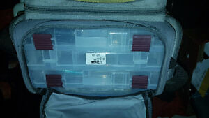 2 Tackle boxes full of gear and 2 Baitcaster reels w/ ugly stick Windsor Region Ontario image 9