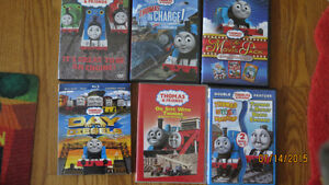 Thomas the Train DVDs and Blu Rays