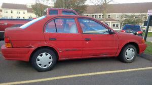1997 Toyota Tercel Sedan