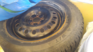 Winter tires, 235/65r18, great condition