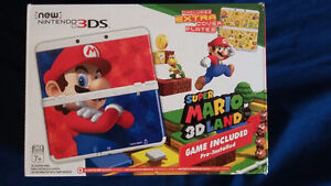 """BRAND NEW """"NEW"""" 3DS + SUPER MARIO 3D LAND"""