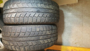 Two 205/55-16 inch Winter Tires - No Rims