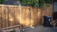 Professional Wood Fence And Chainlink New Installs and Repairs
