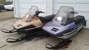 2 YAMAHA ENTICER 340'S - BOTH GREAT SHAPE AND RUN EXCELLENT!