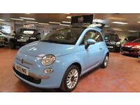 2015 FIAT 500 1.2 Lounge [Start Stop] Pan Roof BLUE and ME Bluetooth Voice Com