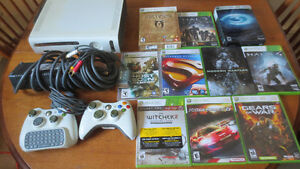 xbox 360 lot with games extras ect