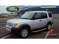 2007 LAND ROVER DISCOVERY 4X4 SILVER DIESEL 3 2.7TD V6 auto XS 7 SEATER