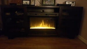 Windsor media center with fireplace  $550