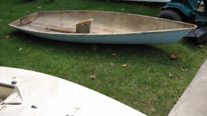 Laser Sailboat Boom, with all Deck Hardware