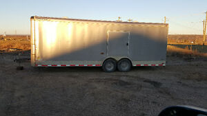 Looking to sale my 24ft 2014 enclose trailer.
